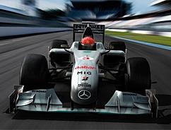 Mercedes GP: ecco la livrea delle frecce d'argento