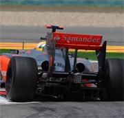 McLaren Mercedes: in Cina segni di ripresa con il nuovo diffusore