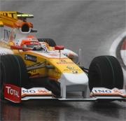 Piquet in Bahrain con il nuovo diffusore Renault