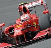 GP Belgio: subito fuori Button e Hamilton, Raikkonen in testa
