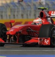 Ferrari: Raikkonen sesto, Badoer ultimo nel sabato di Valencia