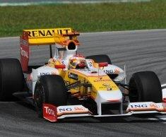 Renault F1: Alonso e Piquet delusi dall'esito delle qualifiche nel GP di Malesia