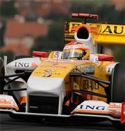 Renault F1: Miglior tempo per Fernando Alonso nelle libere del GP Europa