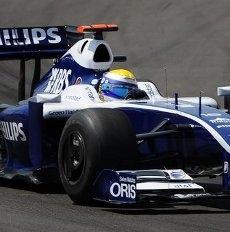 Frank Williams ospite della Mercedes al DTM