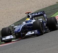 Williams F1: Quinta e sesta fila in Spagna