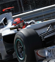 GP Monaco: Schumacher penalizzato di 20 secondi