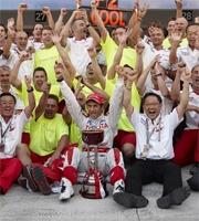 Trulli regala alla Toyota il secondo posto nella gara di casa