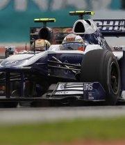 Williams: un punto con Hulkenberg in Malesia